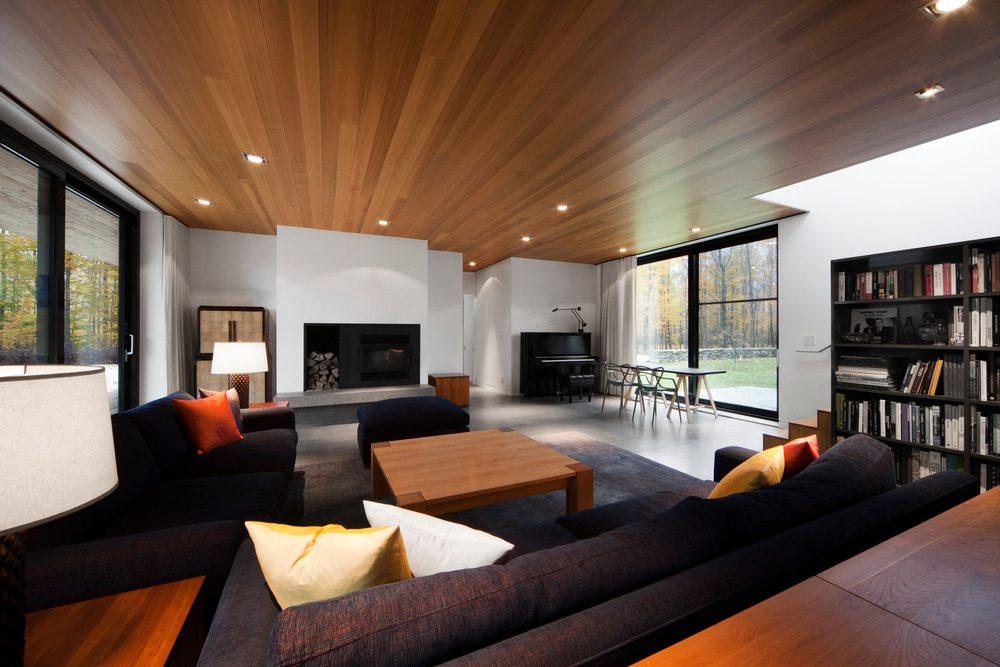 Biệt thự nghỉ dưỡng hiện đại tại Canada - Rosenberry Residence - 06