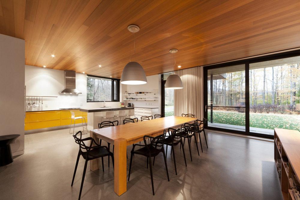 Biệt thự nghỉ dưỡng hiện đại tại Canada - Rosenberry Residence - 07