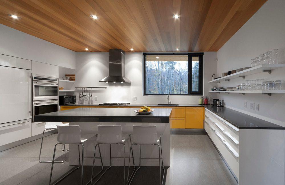 Biệt thự nghỉ dưỡng hiện đại tại Canada - Rosenberry Residence - 08