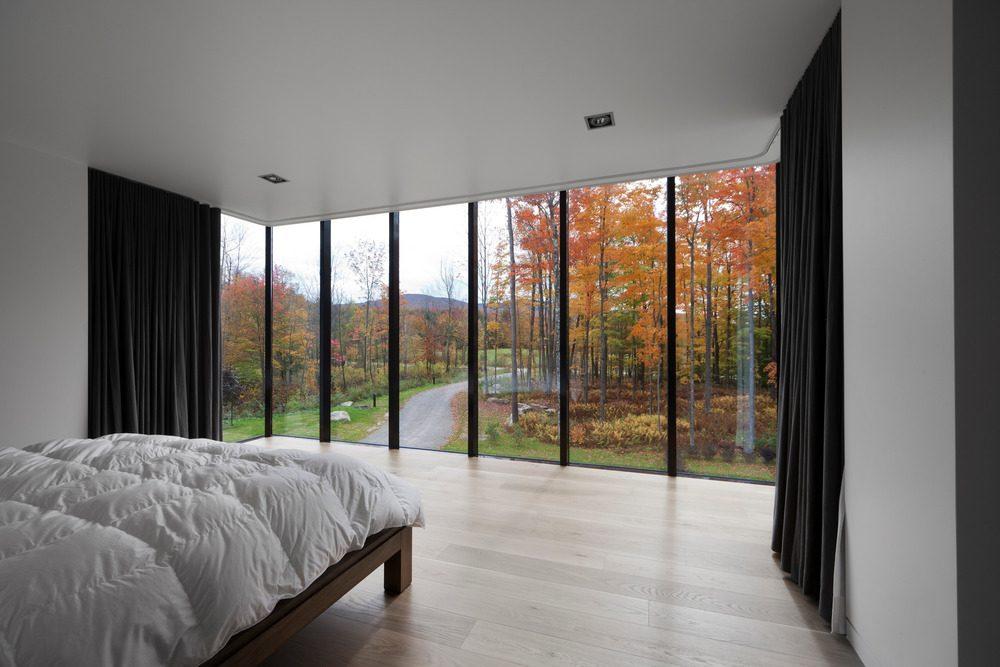 Biệt thự nghỉ dưỡng hiện đại tại Canada - Rosenberry Residence - 09