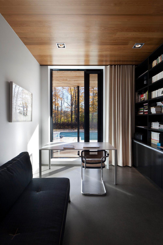 Biệt thự nghỉ dưỡng hiện đại tại Canada - Rosenberry Residence - 11