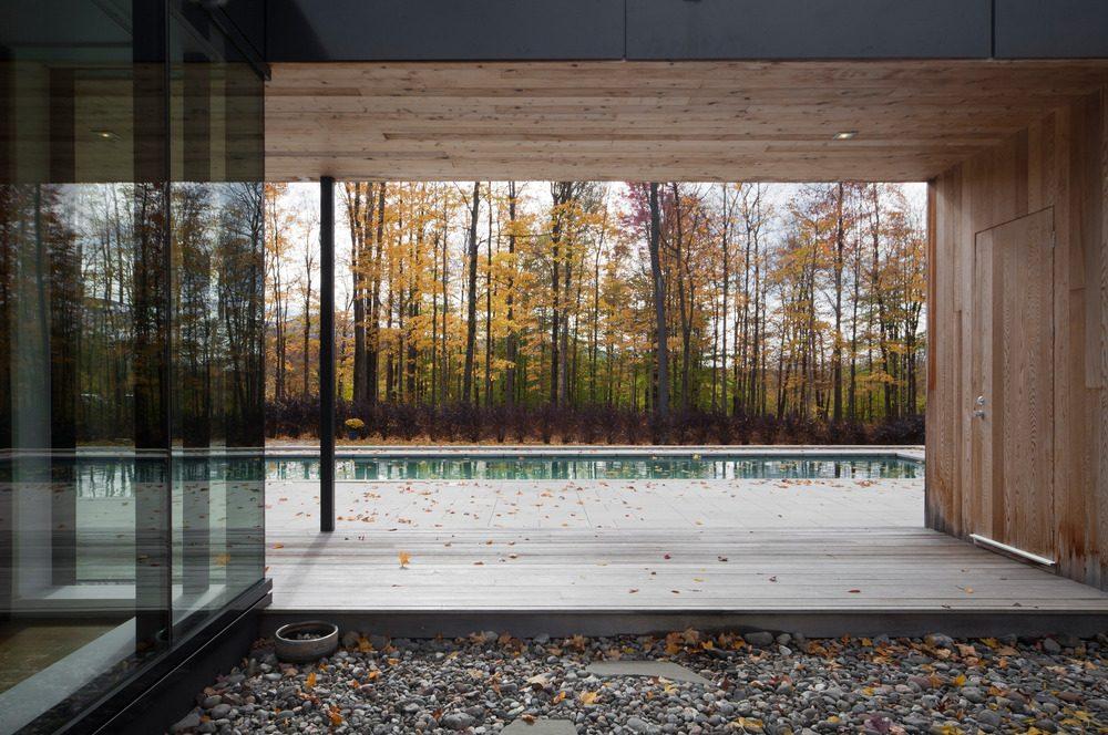 Biệt thự nghỉ dưỡng hiện đại tại Canada - Rosenberry Residence - 12