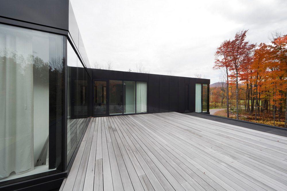 Biệt thự nghỉ dưỡng hiện đại tại Canada - Rosenberry Residence - 13