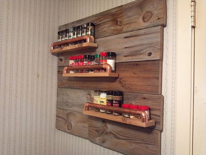Thiết kế phòng bếp biệt thự cùng nội thất gỗ cho mùa đông thêm ấm