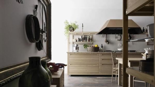 Thiết kế phòng bếp nội thất gỗ tự nhiên đẳng cấp và sang trọng - 06