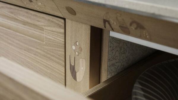 Thiết kế phòng bếp nội thất gỗ tự nhiên đẳng cấp và sang trọng - 08