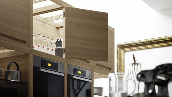 Thiết kế phòng bếp nội thất gỗ tự nhiên đẳng cấp và sang trọng - 09