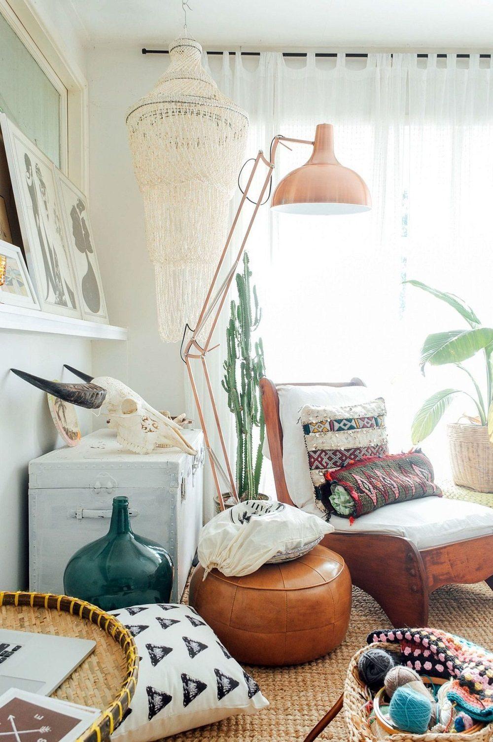 Thiết kế phòng khách phong cách Bohemian cực ấn tượng - 03