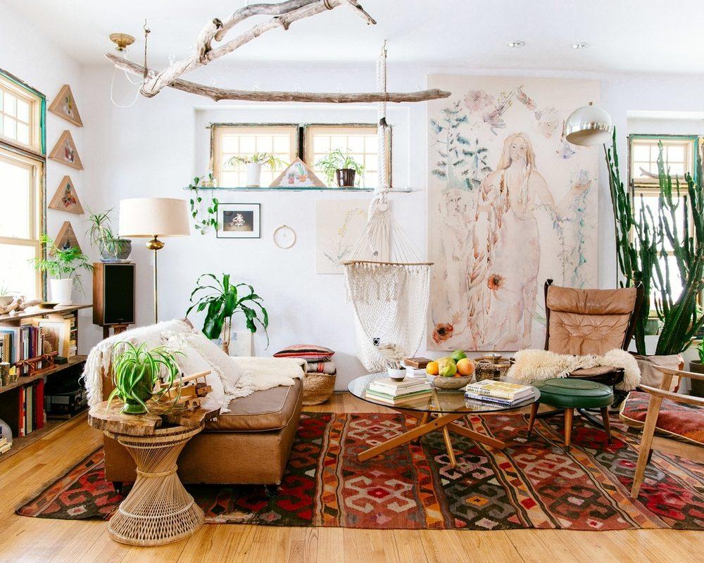 Thiết kế phòng khách phong cách Bohemian cực ấn tượng - 07