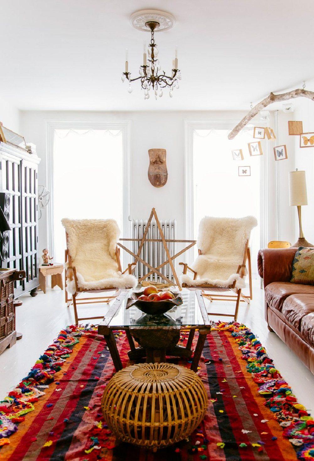 Thiết kế phòng khách phong cách Bohemian cực ấn tượng - 08