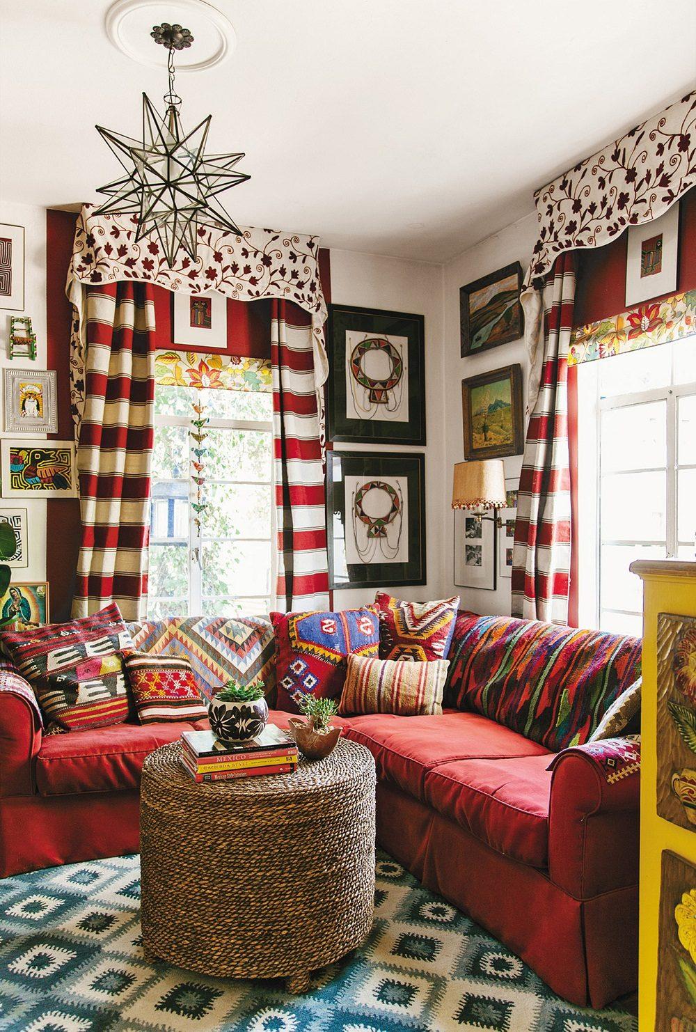 Thiết kế phòng khách phong cách Bohemian cực ấn tượng - 13
