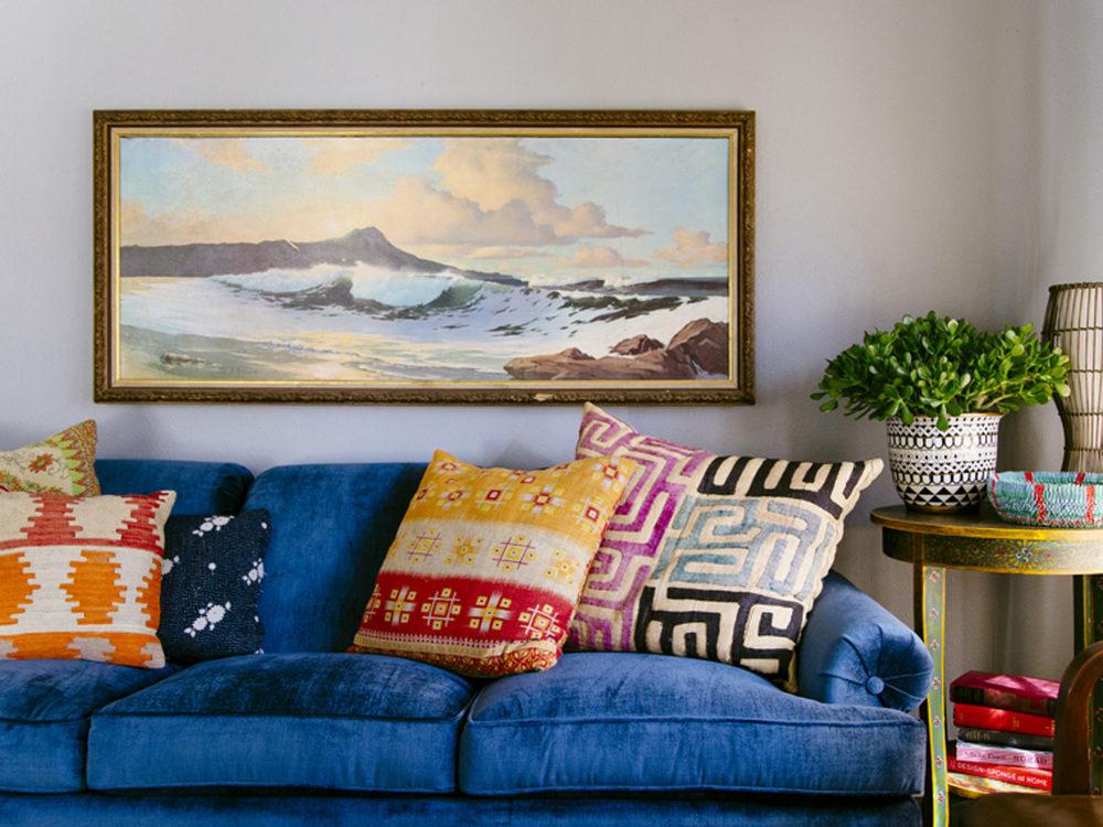 Thiết kế phòng khách phong cách Bohemian cực ấn tượng - 14