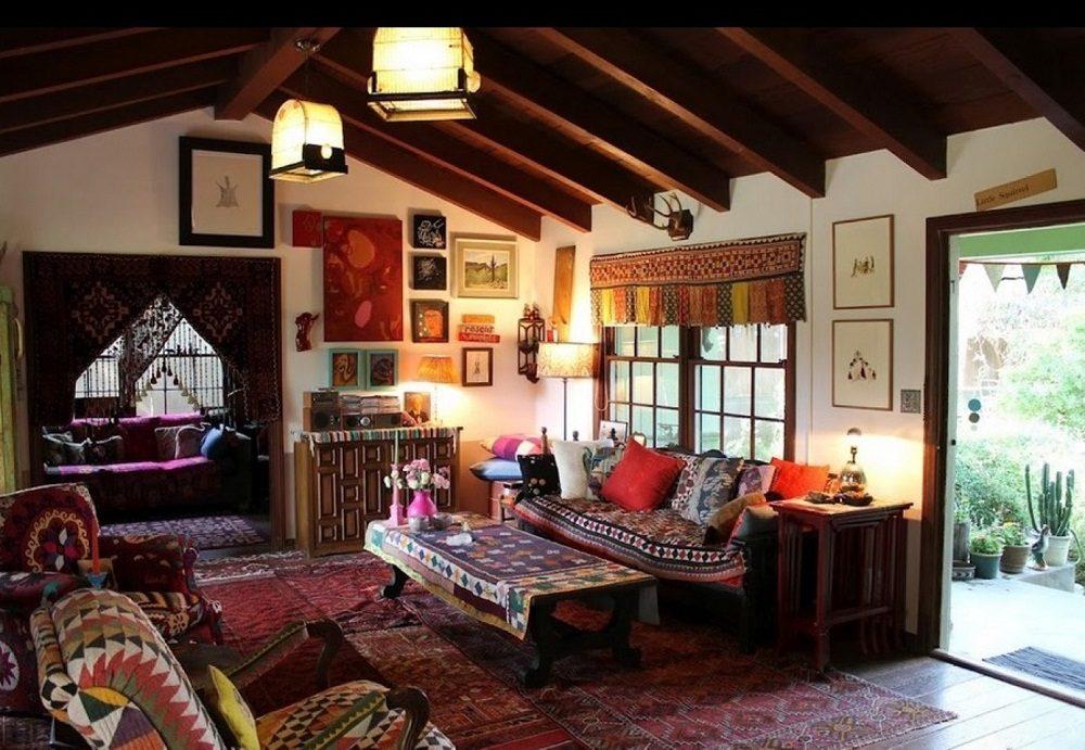 Thiết kế phòng khách phong cách Bohemian cực ấn tượng - 16