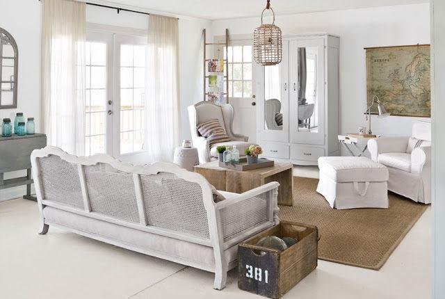 Thiết kế phòng khách phong cách vintage cho biệt thự của bạn - 07