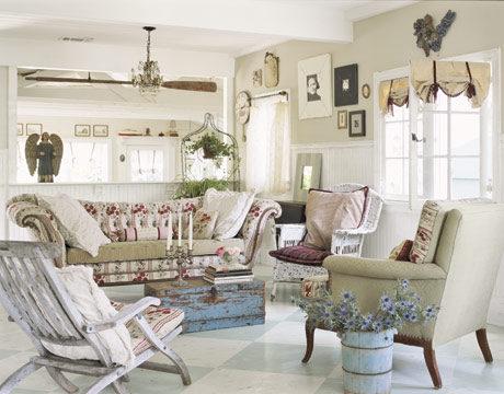 Thiết kế phòng khách phong cách vintage cho biệt thự của bạn - 09