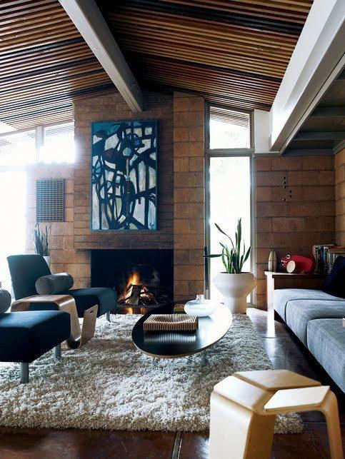 Thiết kế phòng khách phong cách vintage cho biệt thự của bạn - 10