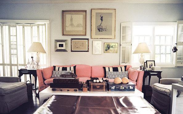 Thiết kế phòng khách phong cách vintage cho biệt thự của bạn - 12