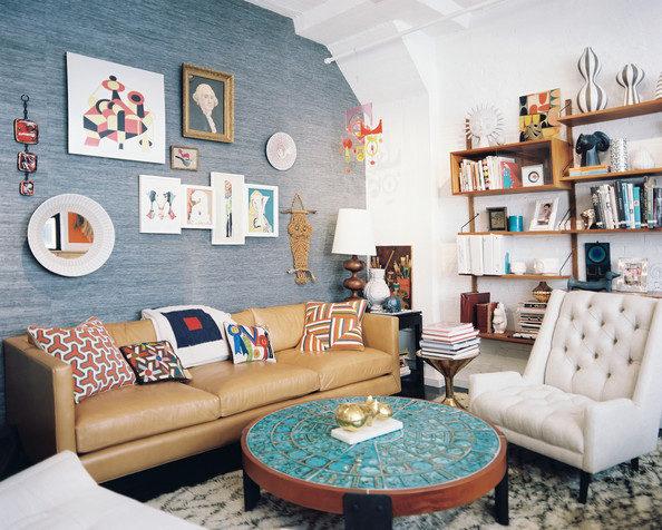 Thiết kế phòng khách phong cách vintage cho biệt thự của bạn - 16