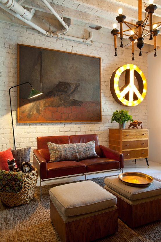 Thiết kế phòng khách phong cách vintage cho biệt thự của bạn - 19