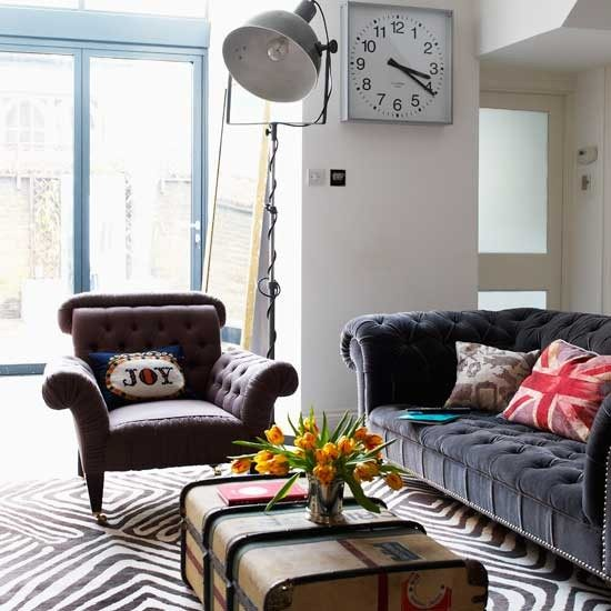 Thiết kế phòng khách phong cách vintage cho biệt thự của bạn - 20