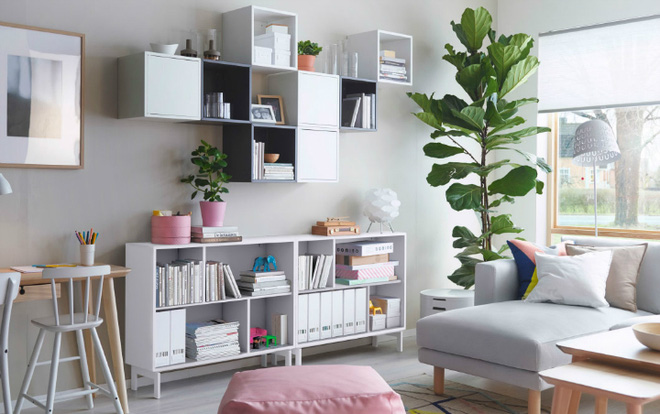 Thiết kế phòng khách nhỏ với chi phí thấp nhưng vẫn đẹp lung linh - 01