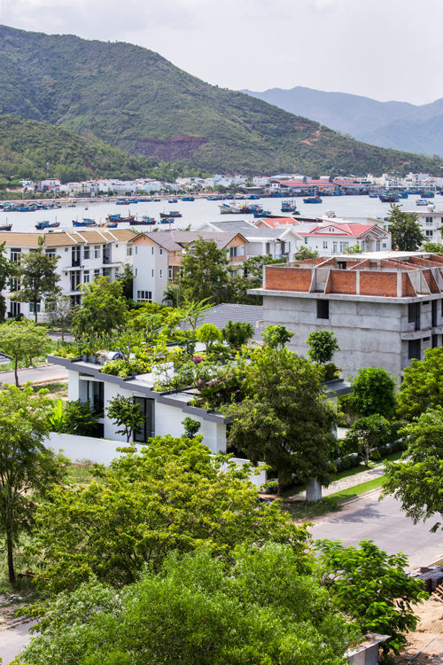 Thiết kế vườn trên sân thượng cho biệt thự ở Nha Trang - 01