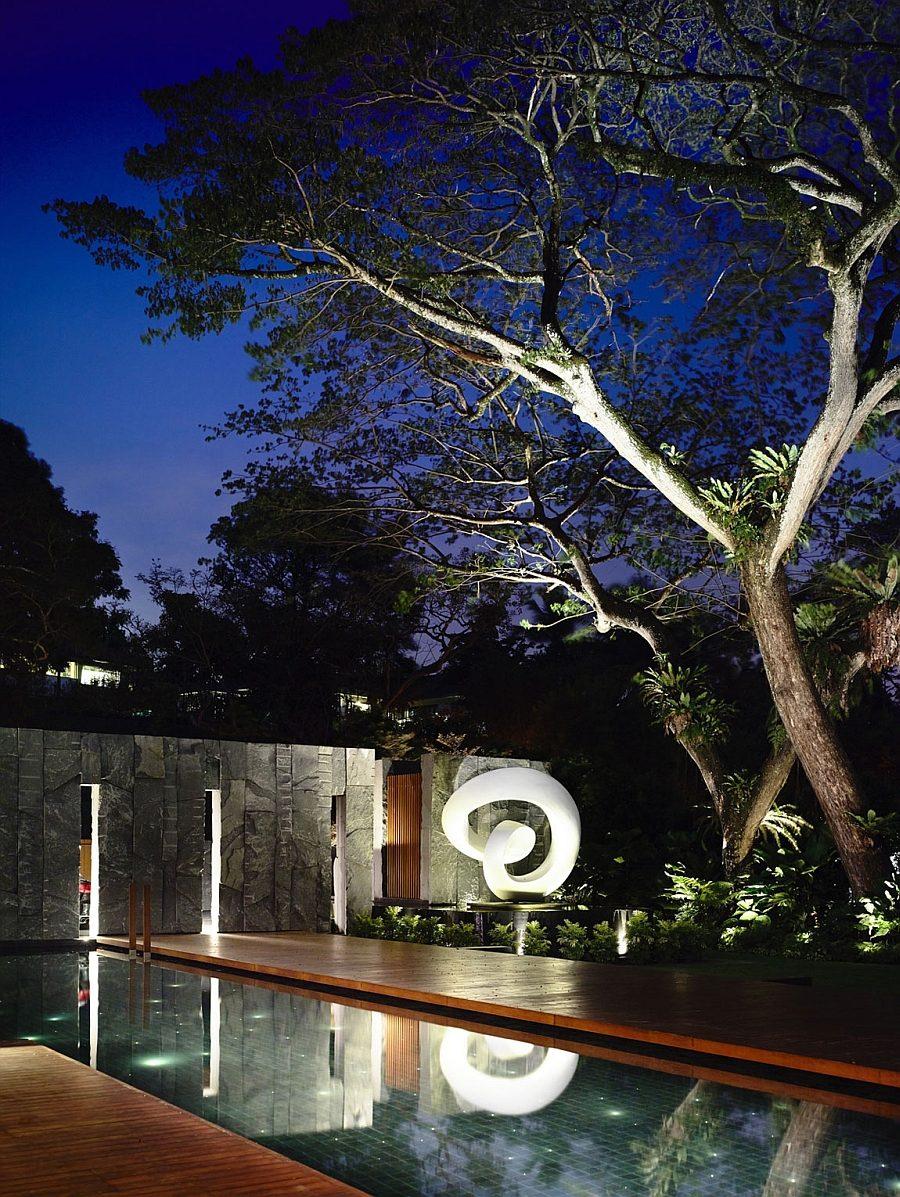 Ngắm nhìn mẫu biệt thự vườn với vẻ đẹp hiện đại cực hút mắt