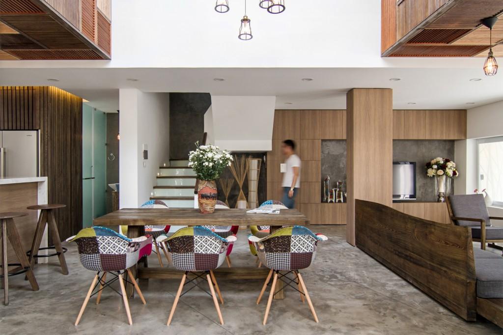 Biệt thự vườn tùng - Khi nội thất toàn là gỗ