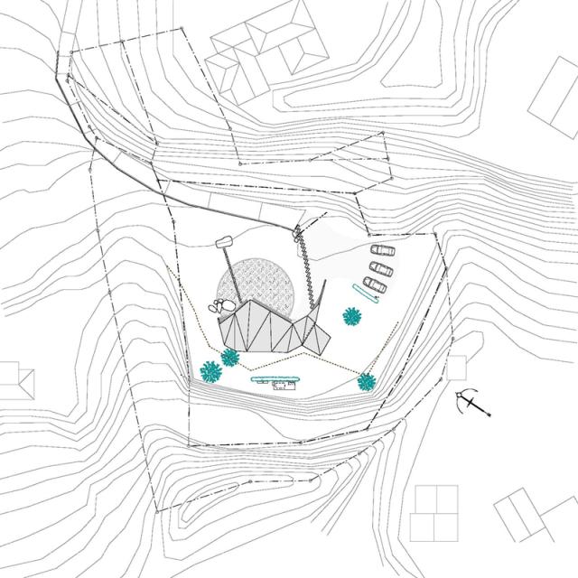 Chiêm ngưỡng căn biệt thự mái giữa đồi của kiến trúc sư Nhật bản