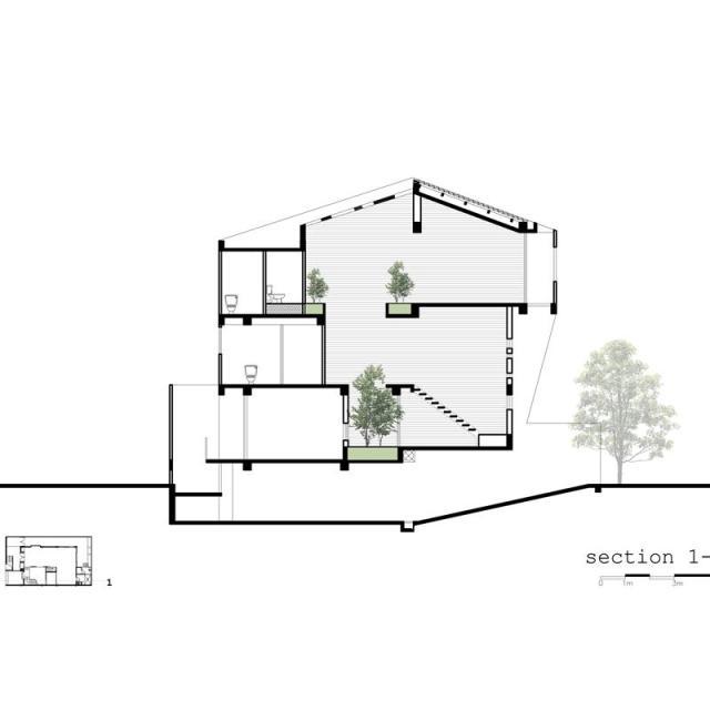 Chiêm ngưỡng căn biệt thự hiện đại hình khối Quận 2