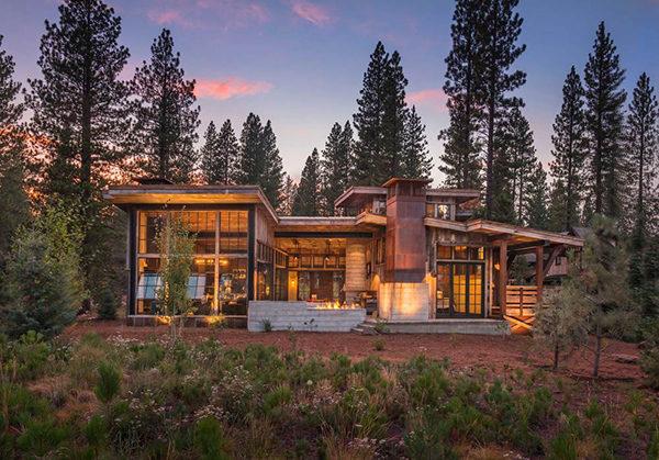 Khám phá biệt thự nghỉ dưỡng đẹp trong rừng tại California