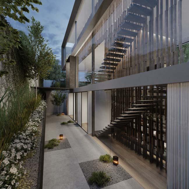 Lạc bước vào căn biệt thự có kiến trúc hòa hợp thiên nhiên đẹp không tưởng