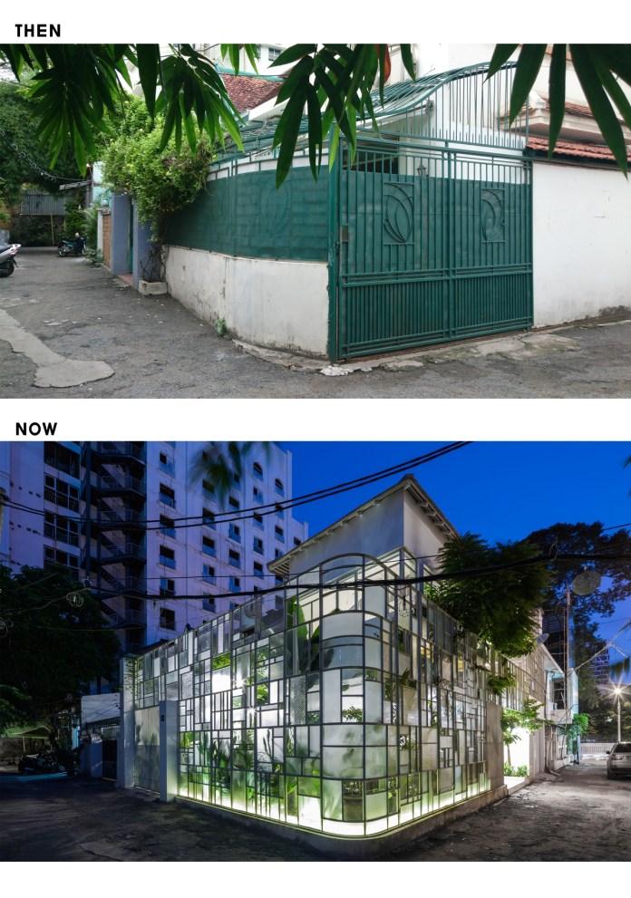 Nhà cải tạo lột xác thành biệt thự xanh gây bất ngờ