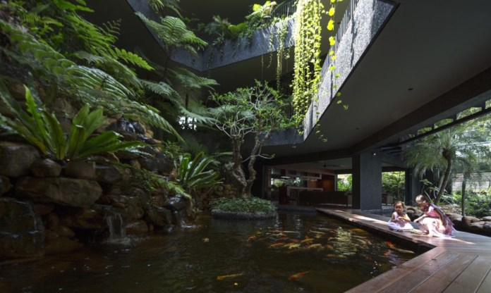Tham khảo mẫu biệt thự vườn treo thiết kế cực lạ tại Singapore