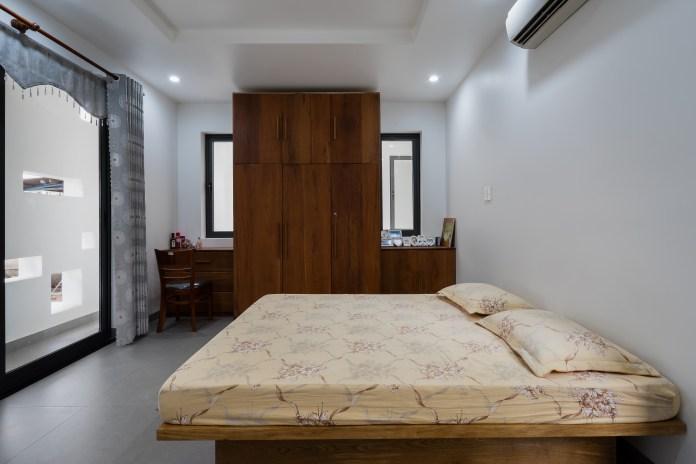 Thăm thú mẫu biệt thự phố phong cách thiết kế hiện đại ở Đồng Nai