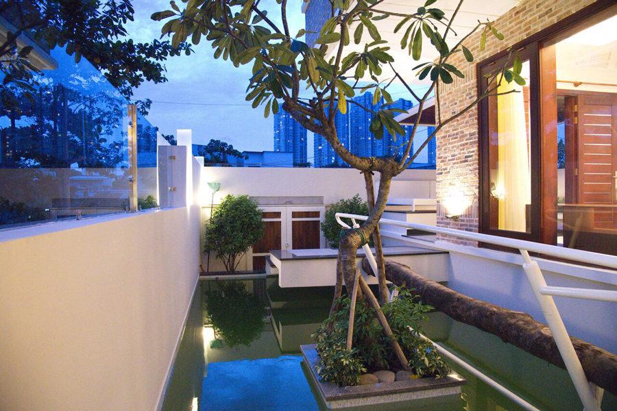 Xem biệt thự Sài Gòn tuyệt đẹp với phong cách miền Tây Nam Bộ