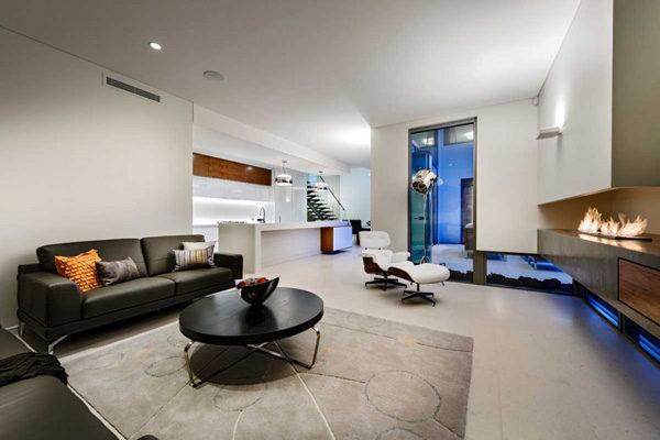 Biệt thự hiện đại hình khối hộp ở miền tây nước Úc
