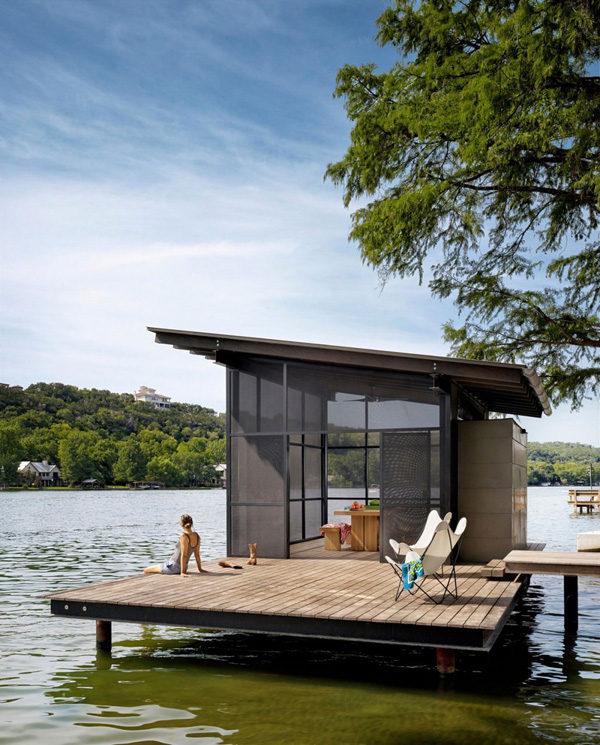 Chiêm ngưỡng căn biệt thự ven hồ tuyệt đẹp tại Mỹ