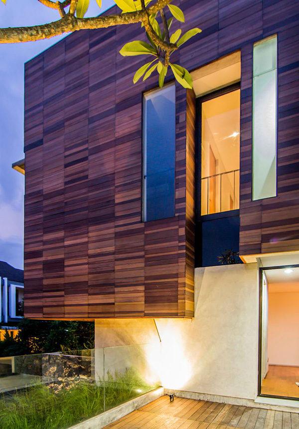 Cực kì sáng tạo căn biệt thự hiện đại tại Indonesia
