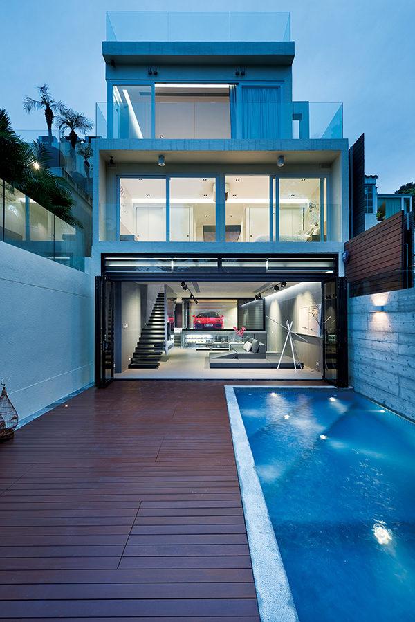 Khám phá căn biệt thự nội thất độc đáo tại Hong Kong