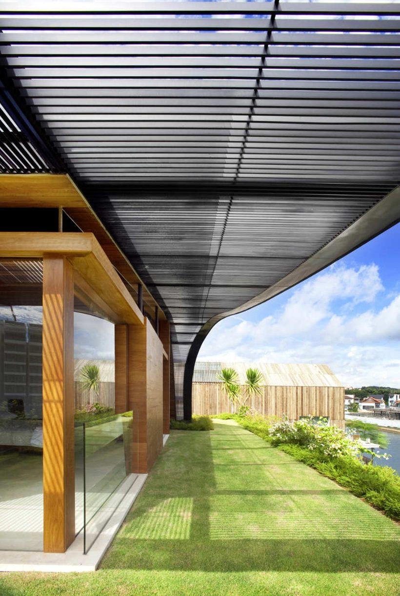 Kiệt tác nhà mái xanh như phim người hobbit ở Singapore