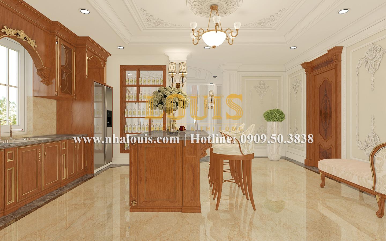 Bếp và phòng ăn Mẫu biệt thự kiến trúc Pháp tại Đồng Nai đẹp hoa lệ - 17