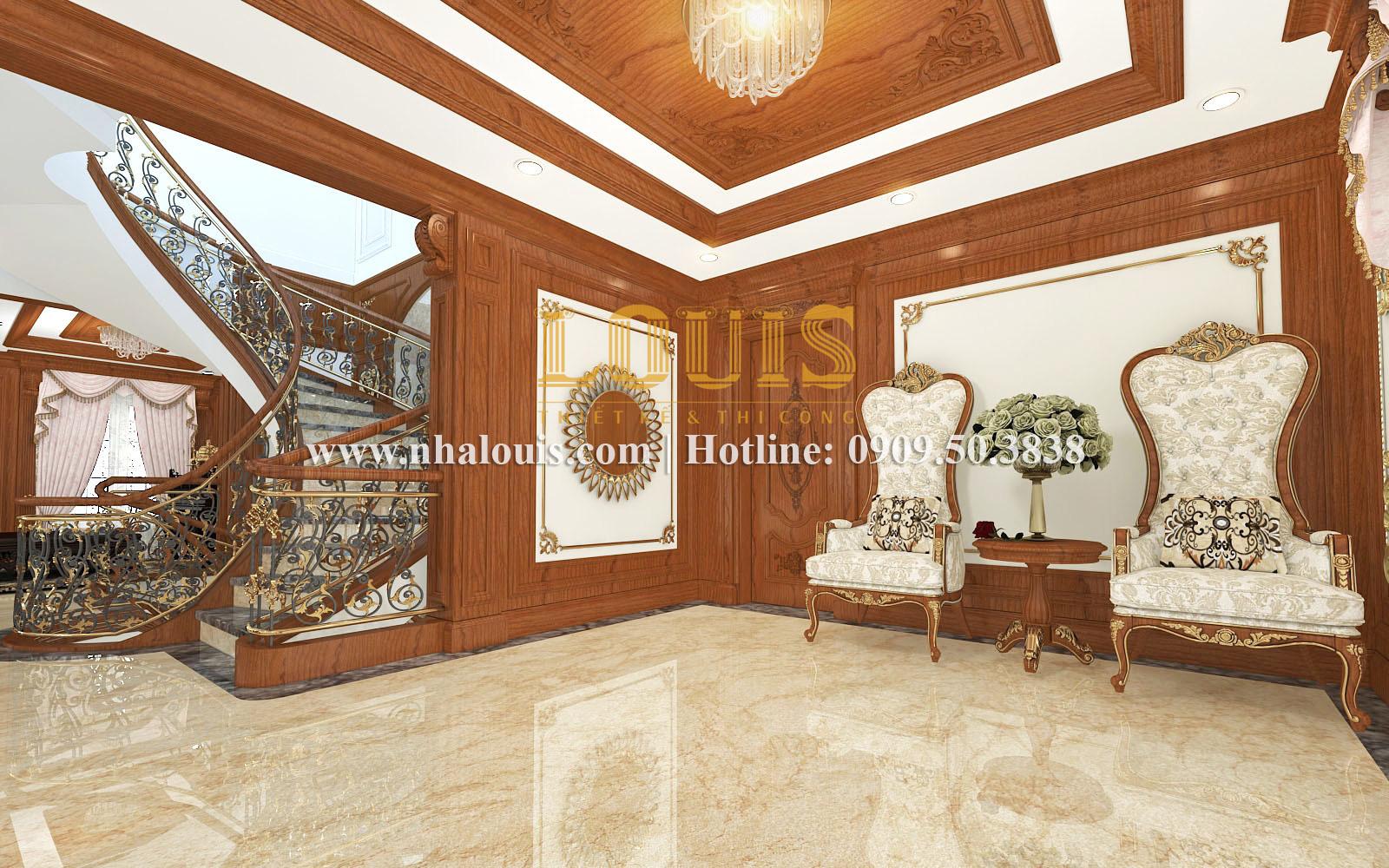 Phòng thư giãn Mẫu biệt thự kiến trúc Pháp tại Đồng Nai đẹp hoa lệ - 24