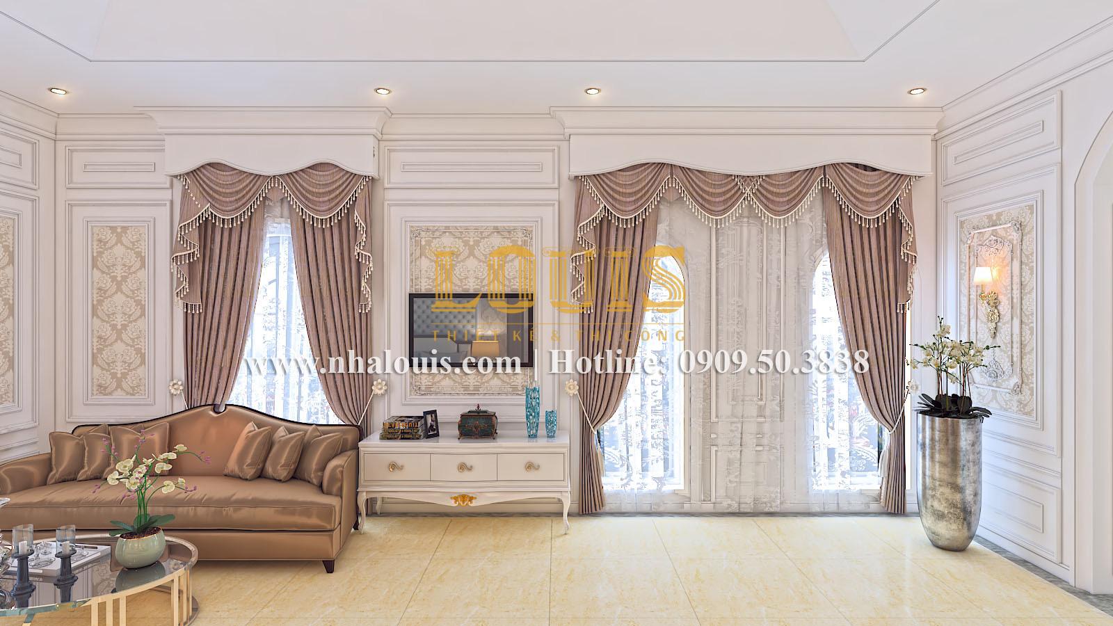 Phòng ngủ Mẫu biệt thự kiến trúc Pháp tại Đồng Nai đẹp hoa lệ - 27