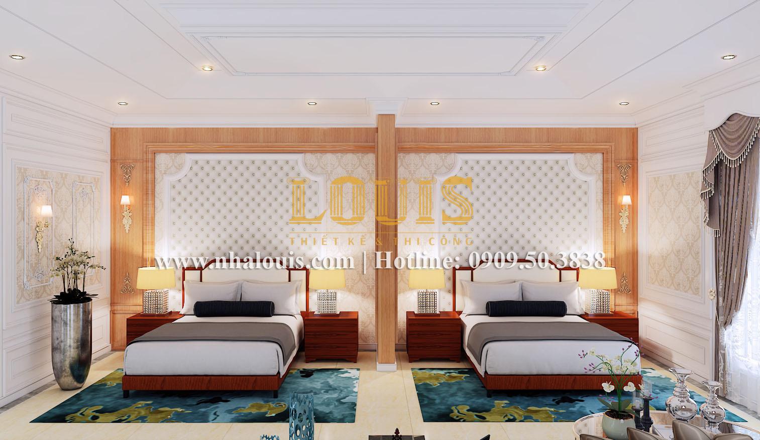 Phòng ngủ Mẫu biệt thự kiến trúc Pháp tại Đồng Nai đẹp hoa lệ - 29
