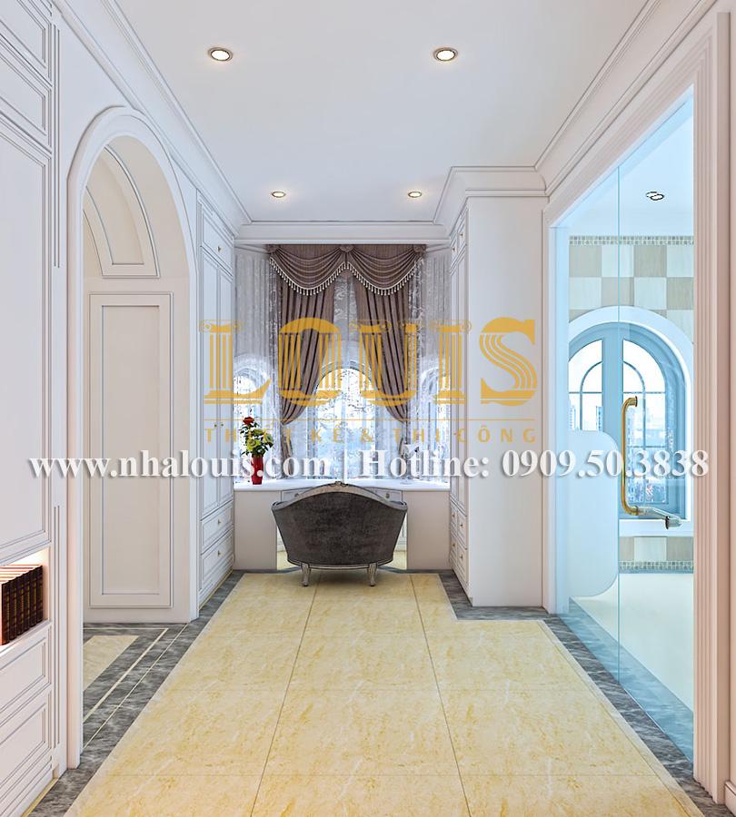 Phòng tắm và WC Mẫu biệt thự kiến trúc Pháp tại Đồng Nai đẹp hoa lệ - 30