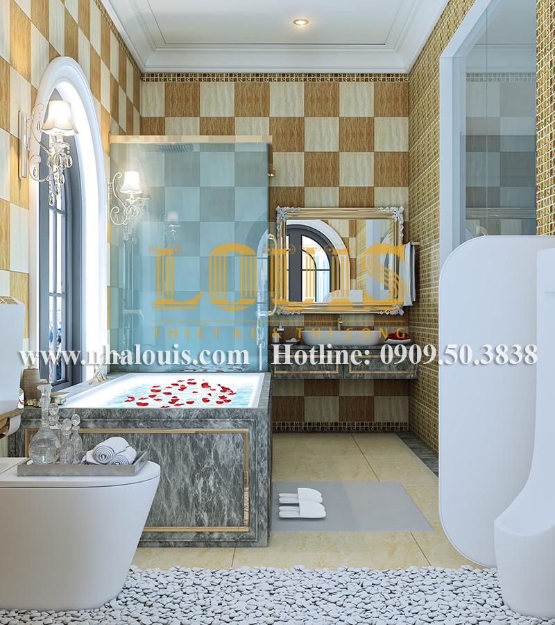 Phòng tắm và WC Mẫu biệt thự kiến trúc Pháp tại Đồng Nai đẹp hoa lệ - 31