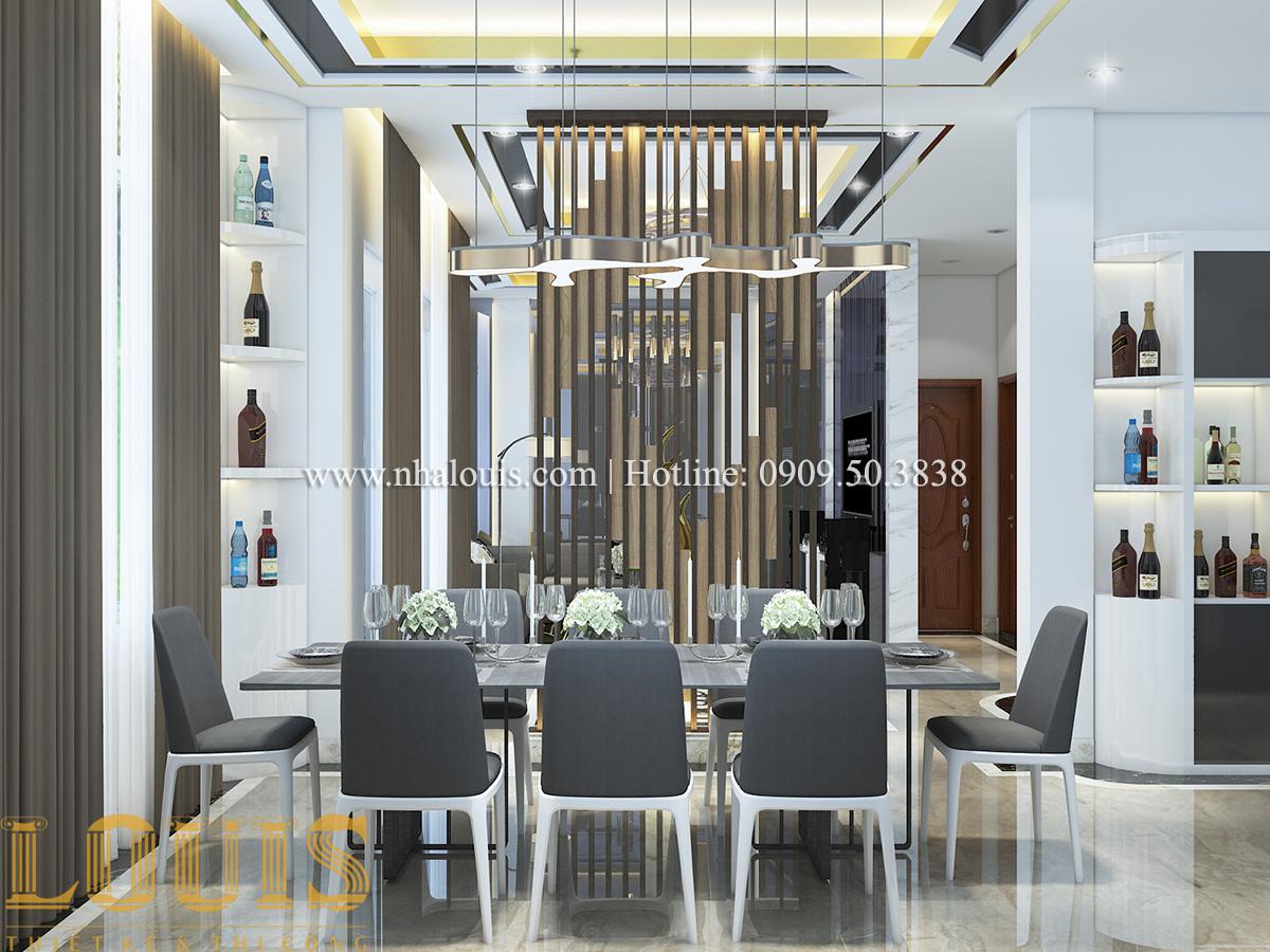 Phòng khách Mẫu biệt thự tân cổ điển đẹp thời thượng tại Vũng Tàu - 05