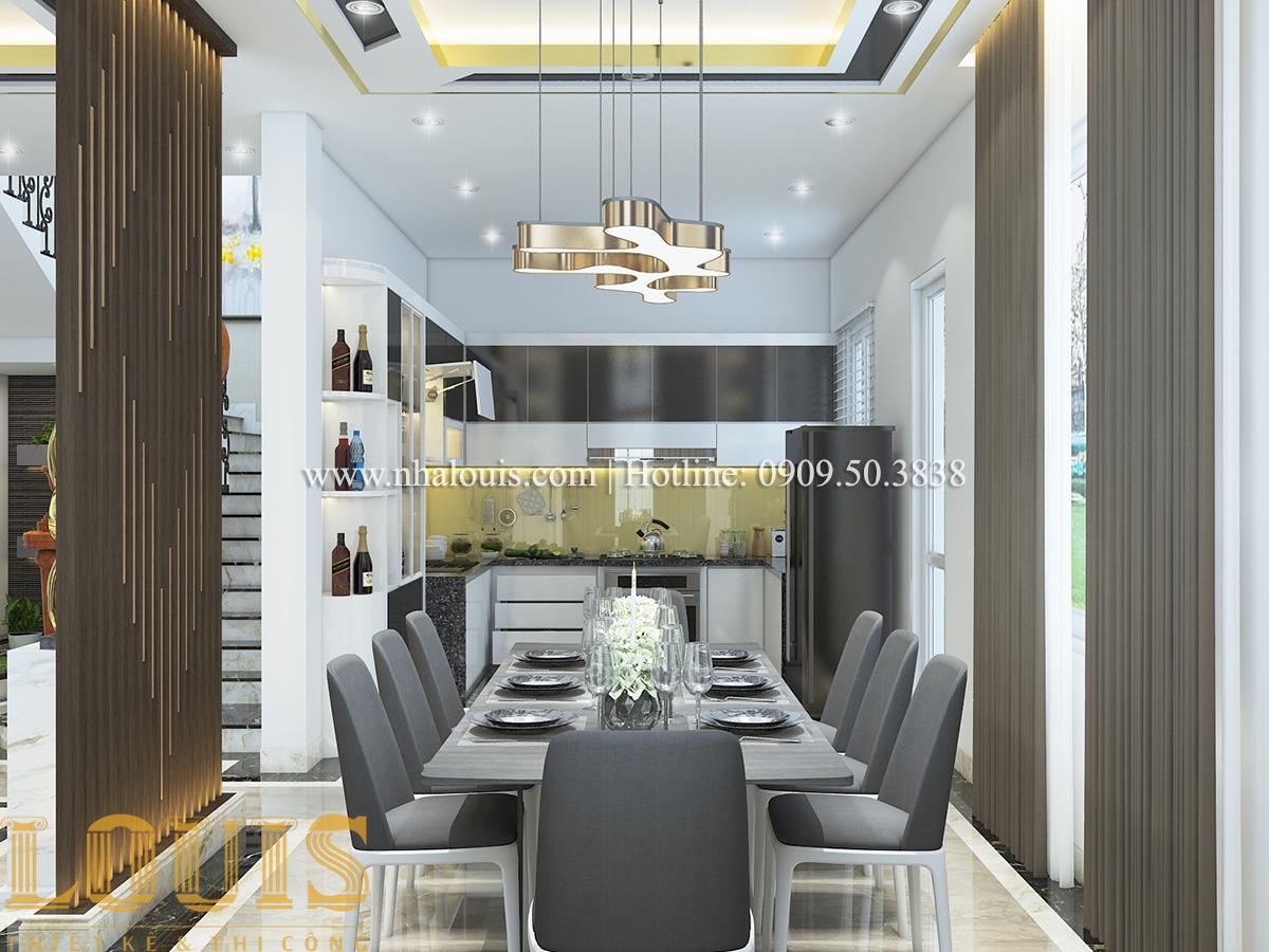 Bếp và phòng ăn Mẫu biệt thự tân cổ điển đẹp thời thượng tại Vũng Tàu - 07