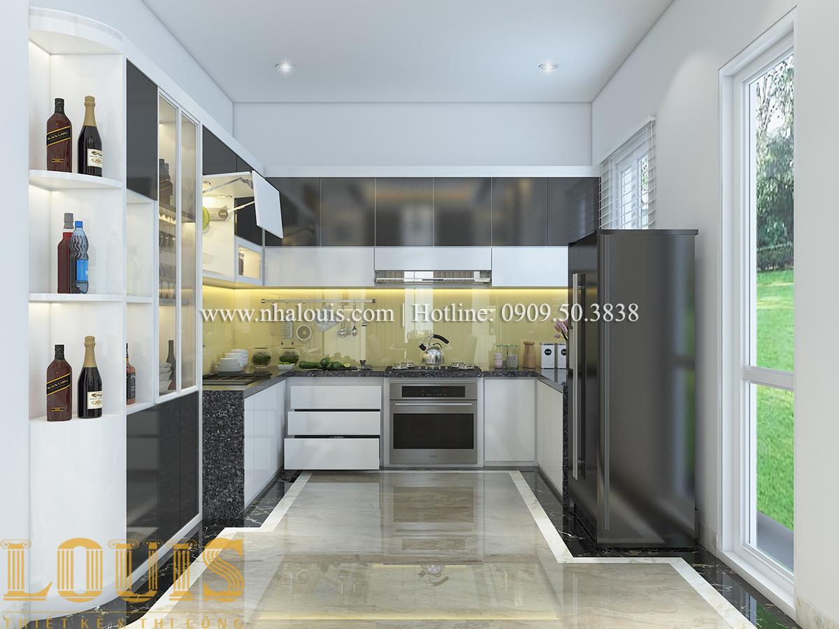 Bếp và phòng ăn Mẫu biệt thự tân cổ điển đẹp thời thượng tại Vũng Tàu - 08